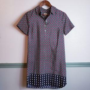 J Crew light Shirt Dress Sz 4 Petite